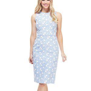 NWT Maggy London Cecilia Midi Dress, Size 2